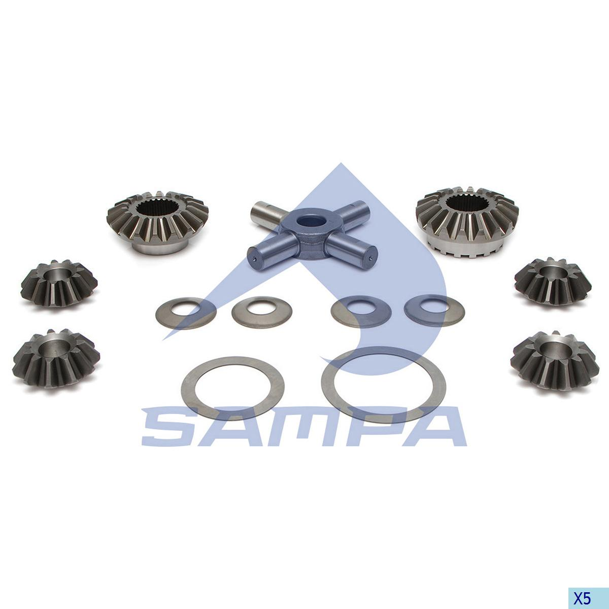 Repair Kit, Differential, Scania, Power Unit