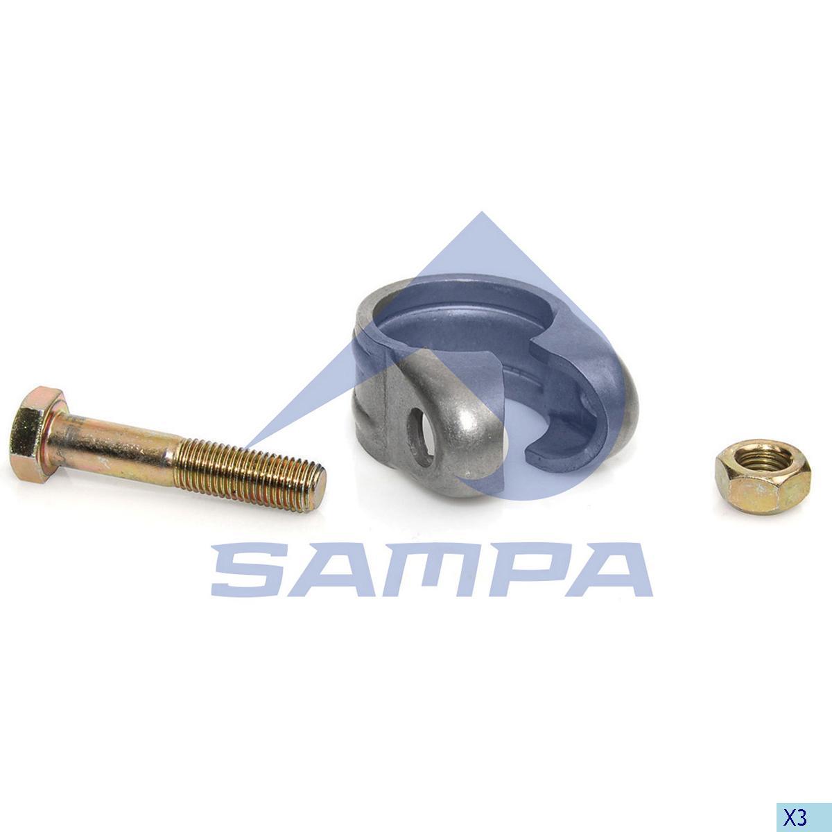 Repair Kit, Drag Link, Scania, Steering