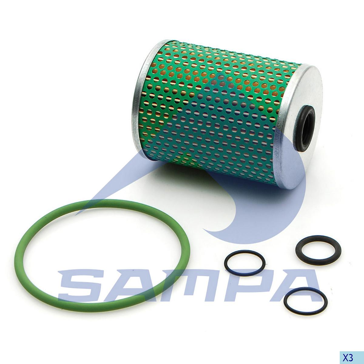 Oil Filter Kit, Retarder, Scania, Gear Box