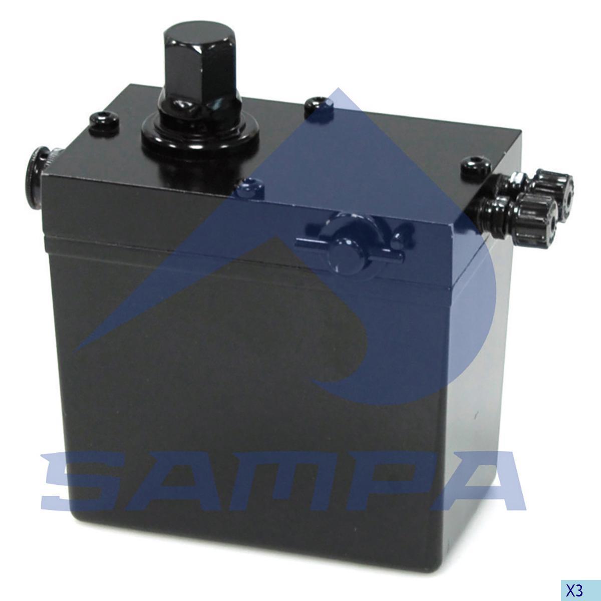 Hand Pump, Cab Tilt, Scania, Cab