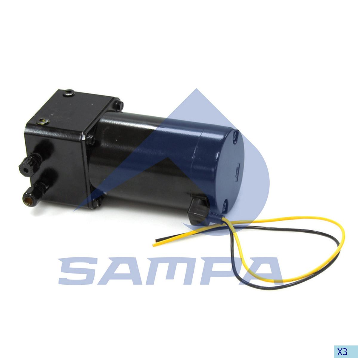 Electric Pump, Cab Tilt, Scania, Cab