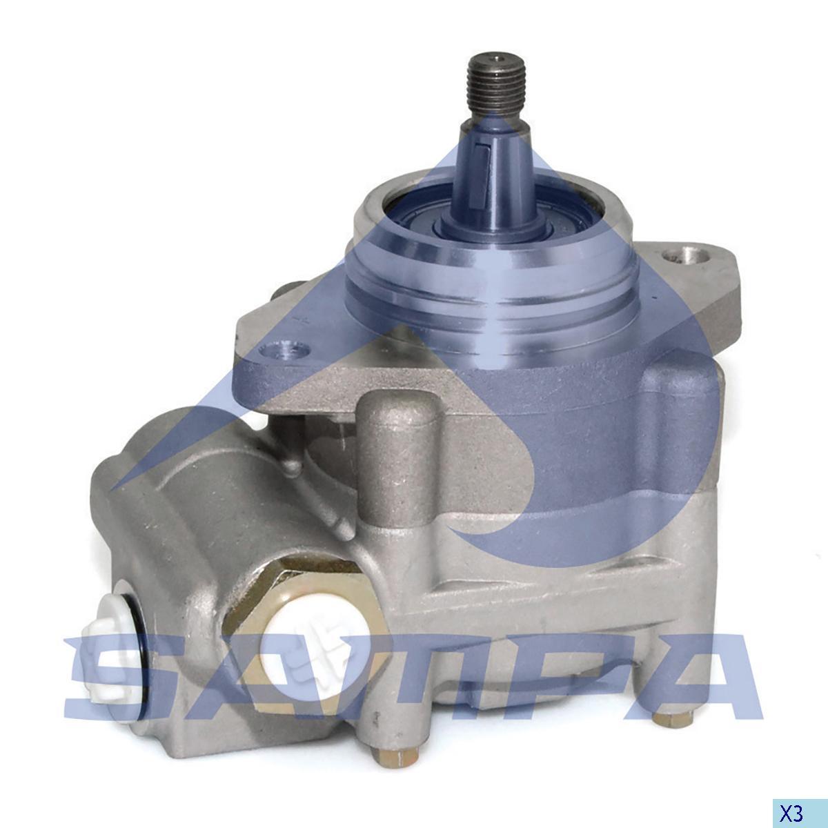 Steering Pump, Scania, Steering