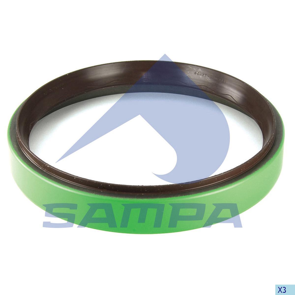 Seal Ring, Wheel Hub, Scania, Power Unit