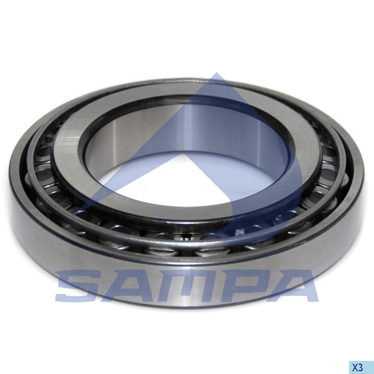Bearing, Wheel Hub, Scania, Power Unit