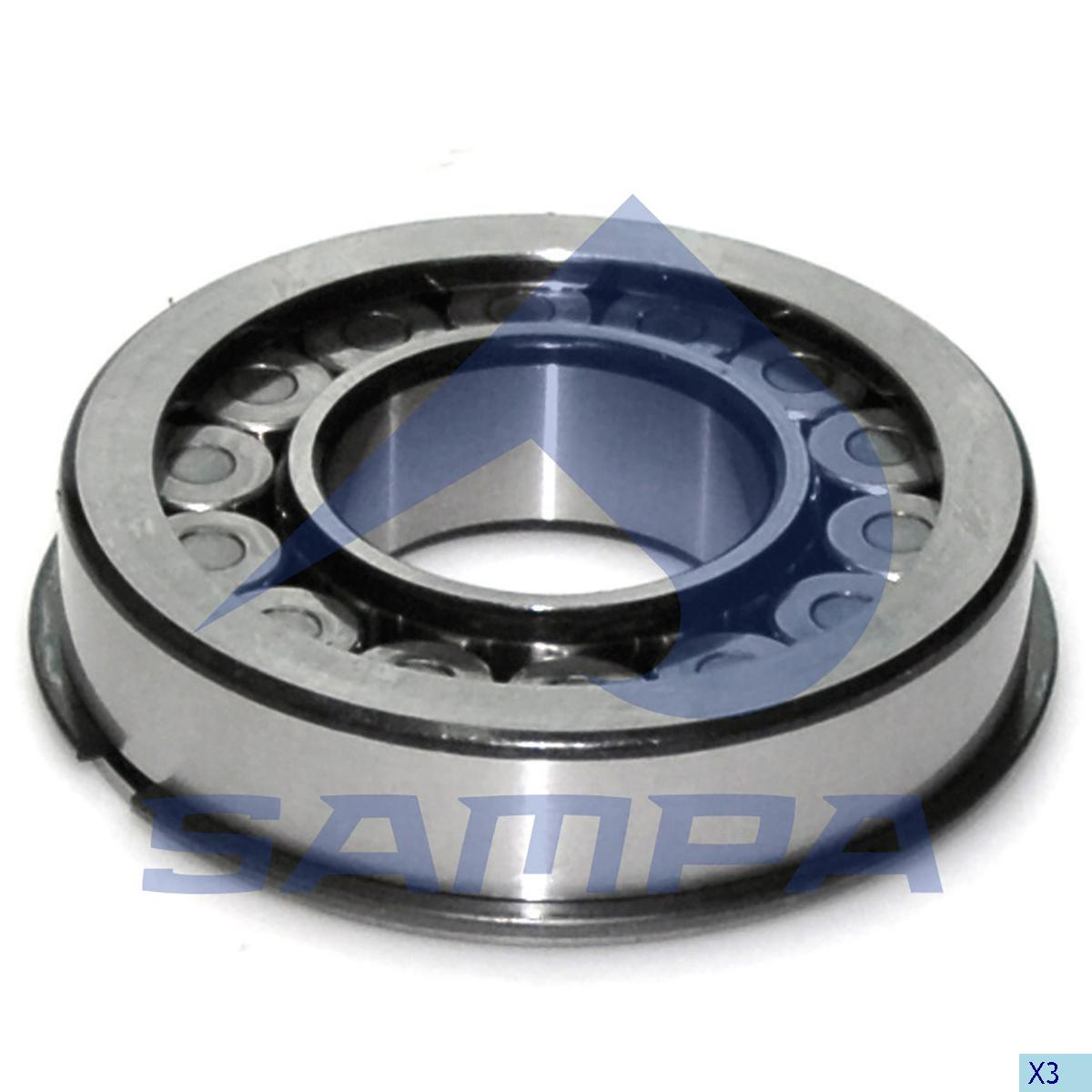Bearing, Drive Shaft, Scania, Power Unit