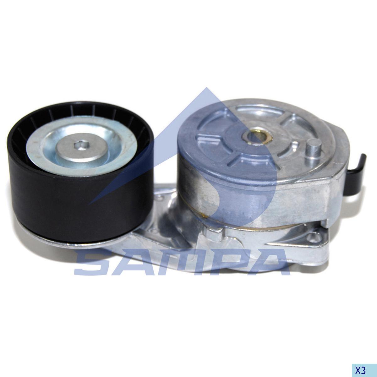 Belt Tensioner, Fan, Scania, Engine