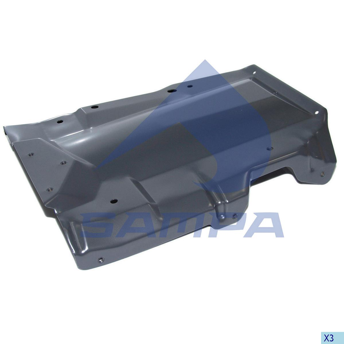 Bracket, Air Filter, Scania, Engine