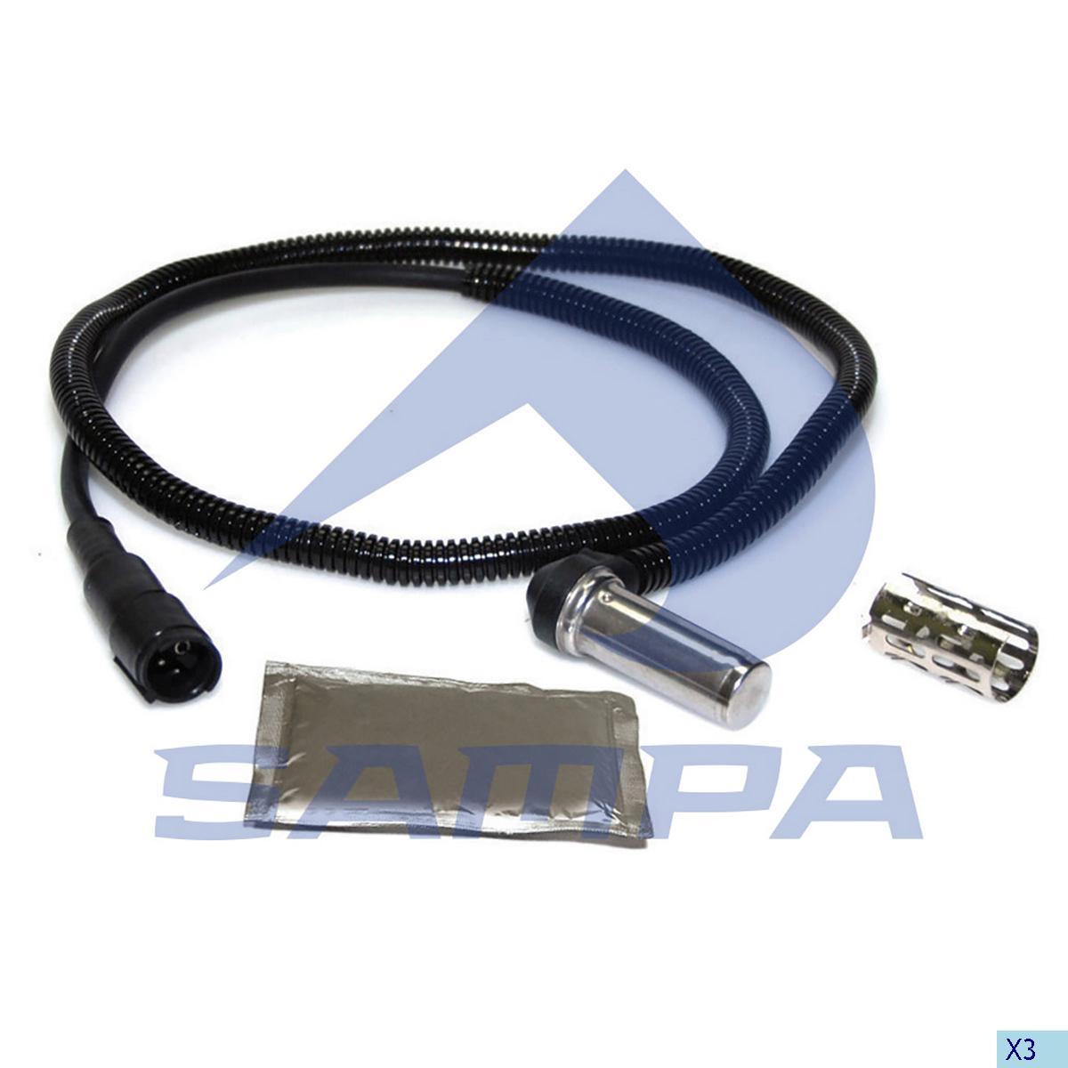 Sensor, ABS, Scania, Brake