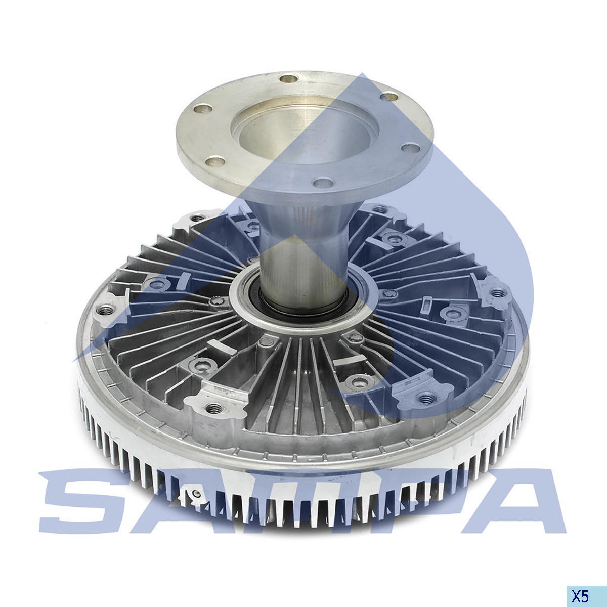 Visco Drive, Fan, Scania, Engine