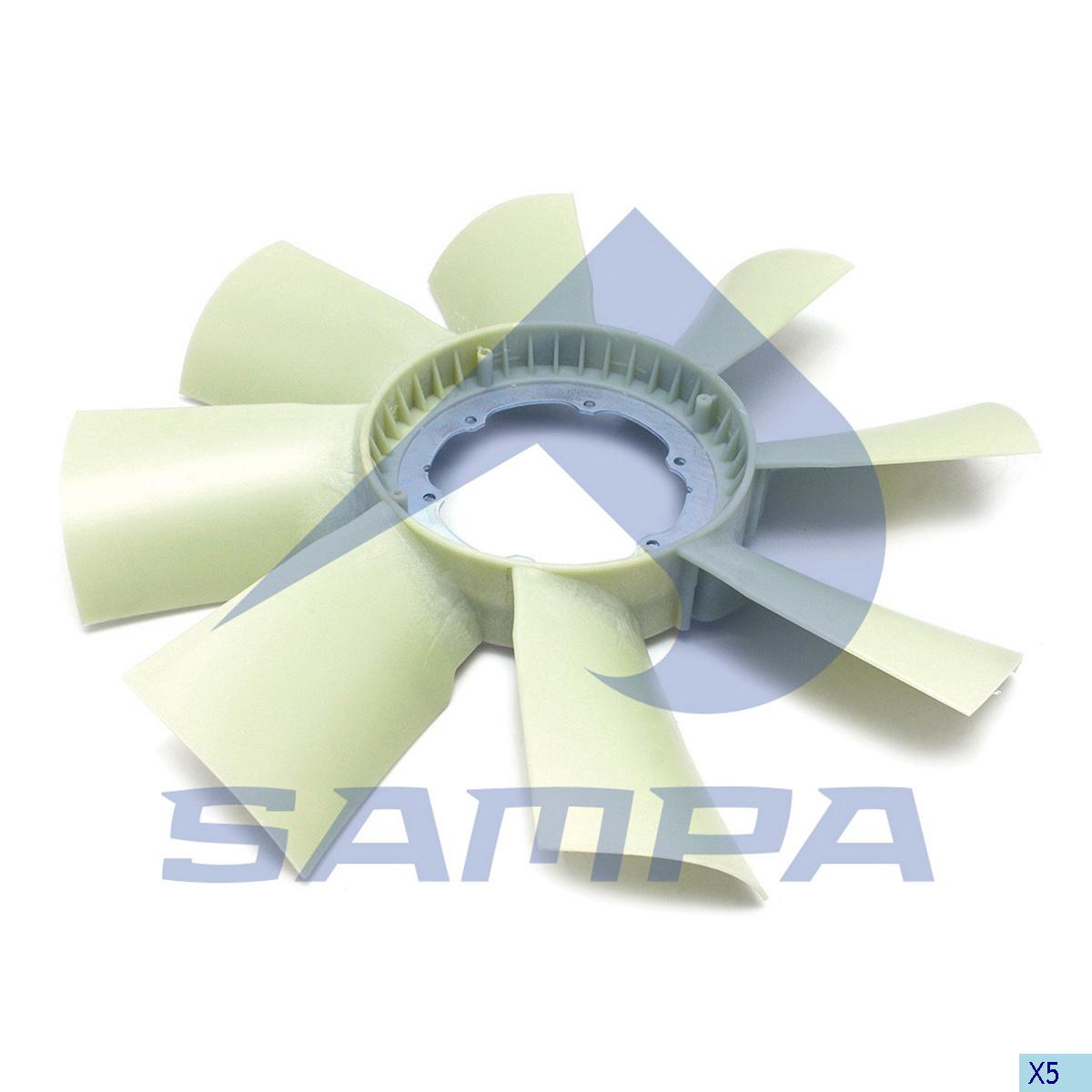 Blade, Fan, Scania, Engine