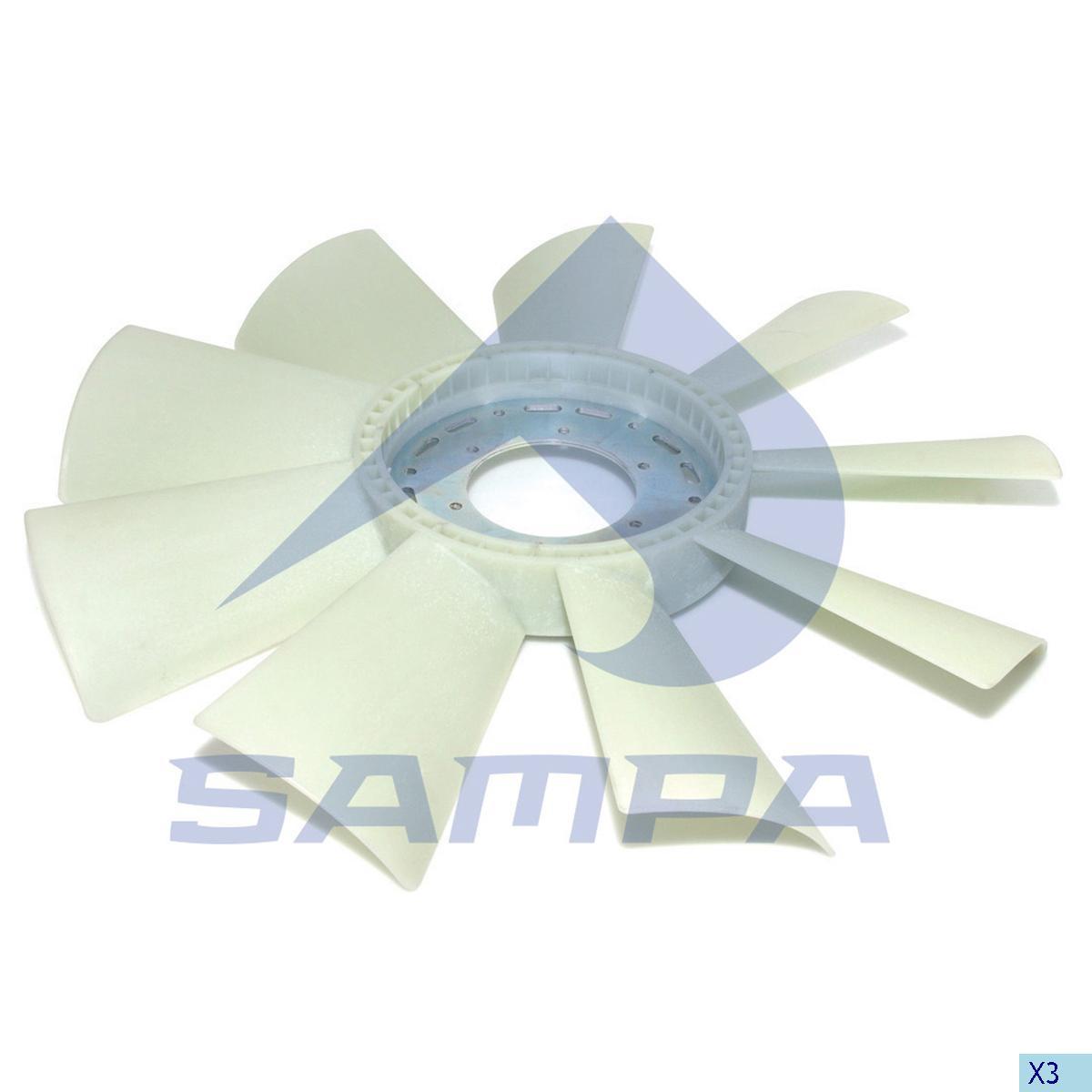 Blade, Fan, Scania, Engine