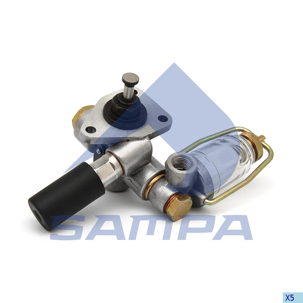 Hand Pump, Feed Pump, Scania, Engine