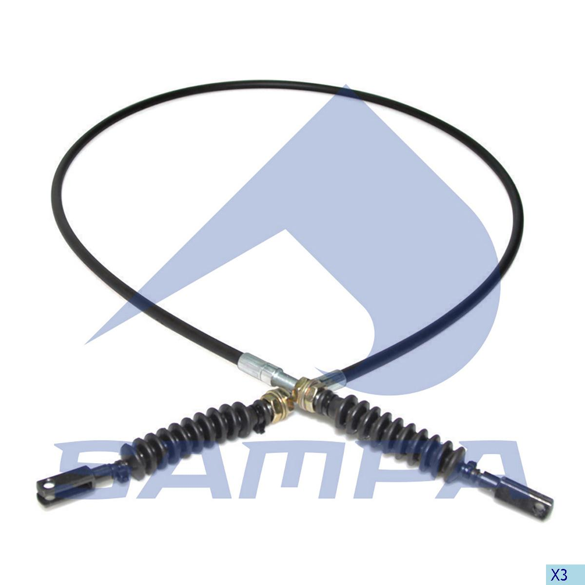 Accelerator Wire, Scania, Engine