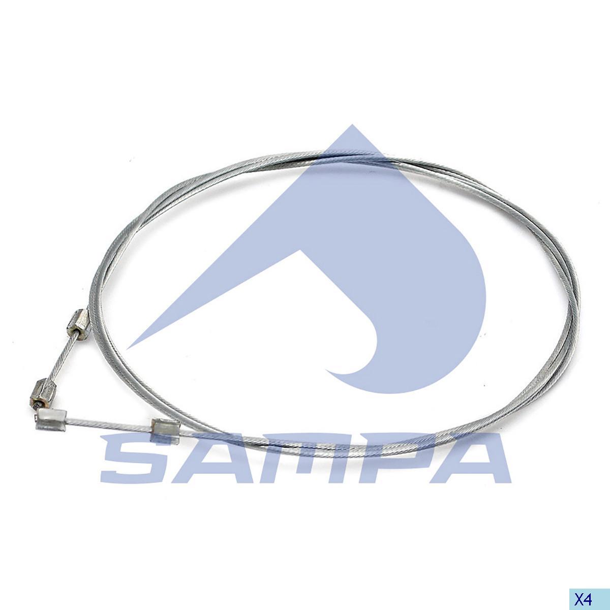 Accelerator Wire, Scania, Engine