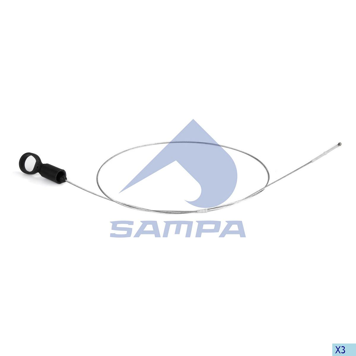 Oil Dipstick, Oil Sump, Scania, Engine