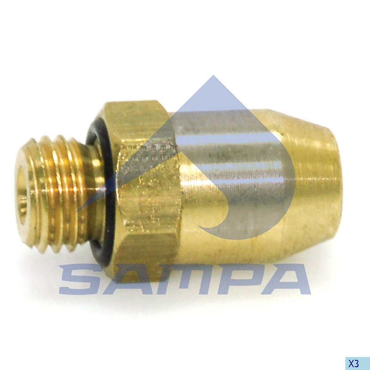 Fitting, Air Spring, Scania, Suspension