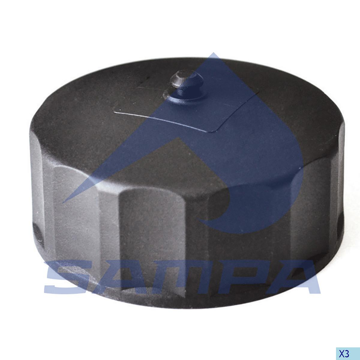 Cap, Oil Filler, Scania, Engine