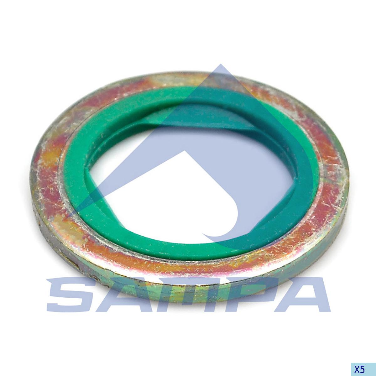Seal Ring, Oil Sump, Scania, Engine