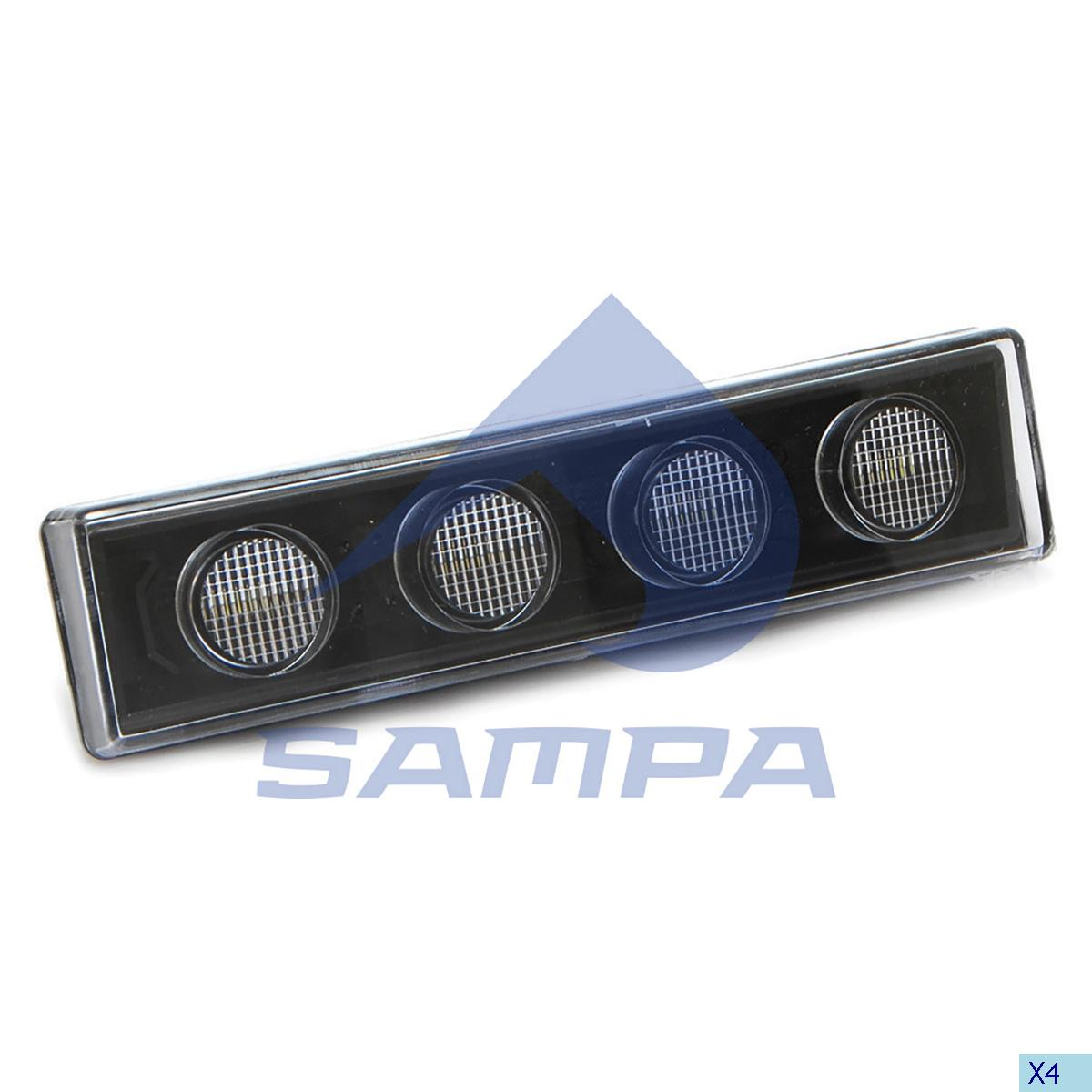 Spot Lamp, Sun Visor, Scania, Cab