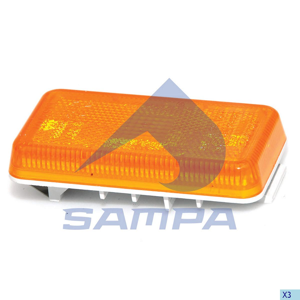 Step Signal Lamp, Scania, Electric System