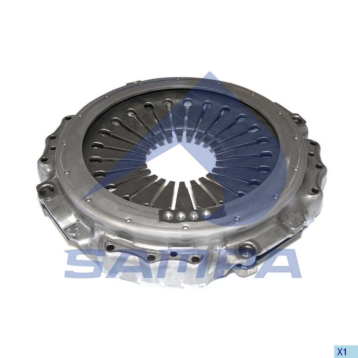 Pressure Plate, Clutch, Scania, Clutch