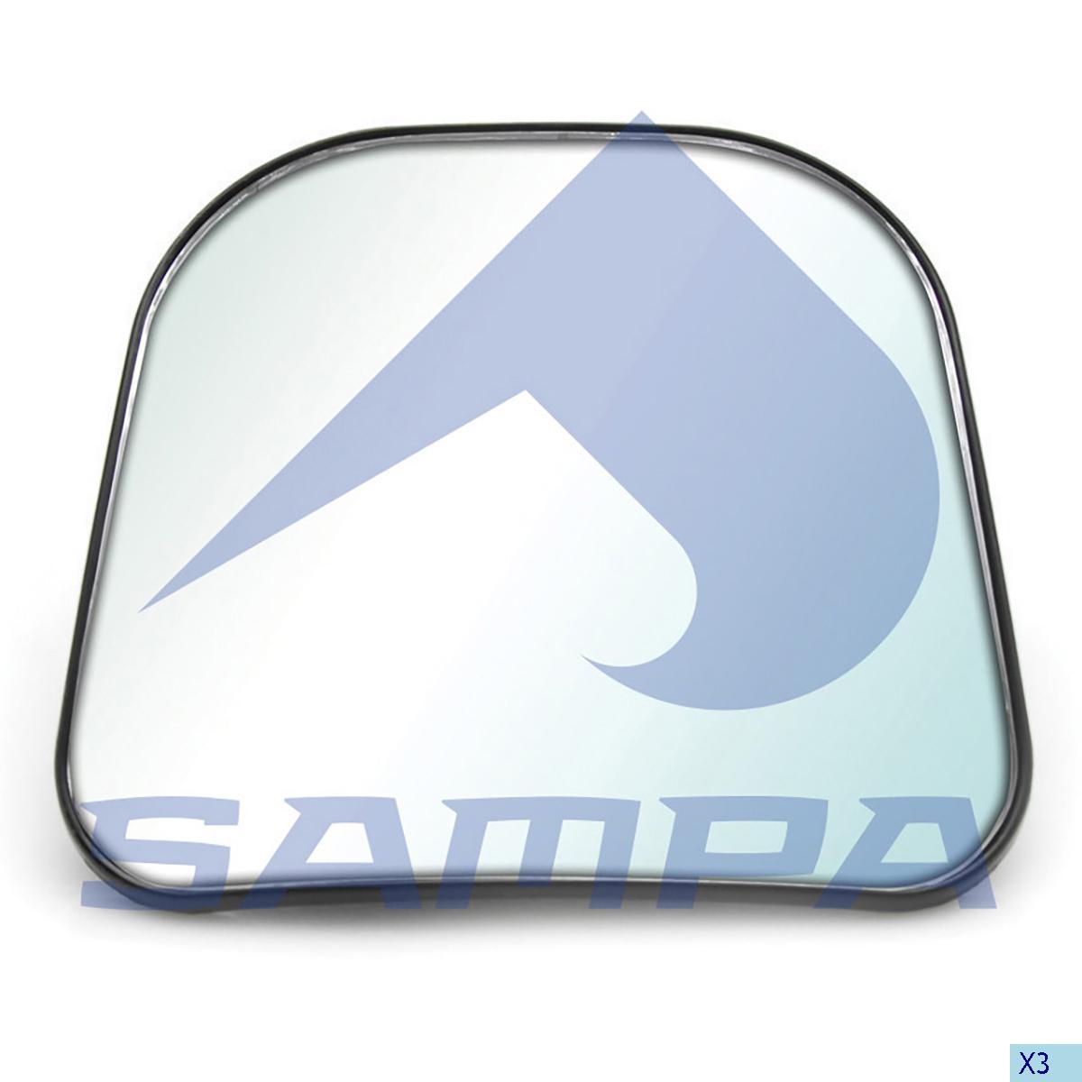 Mirror Glass, Scania, Cab