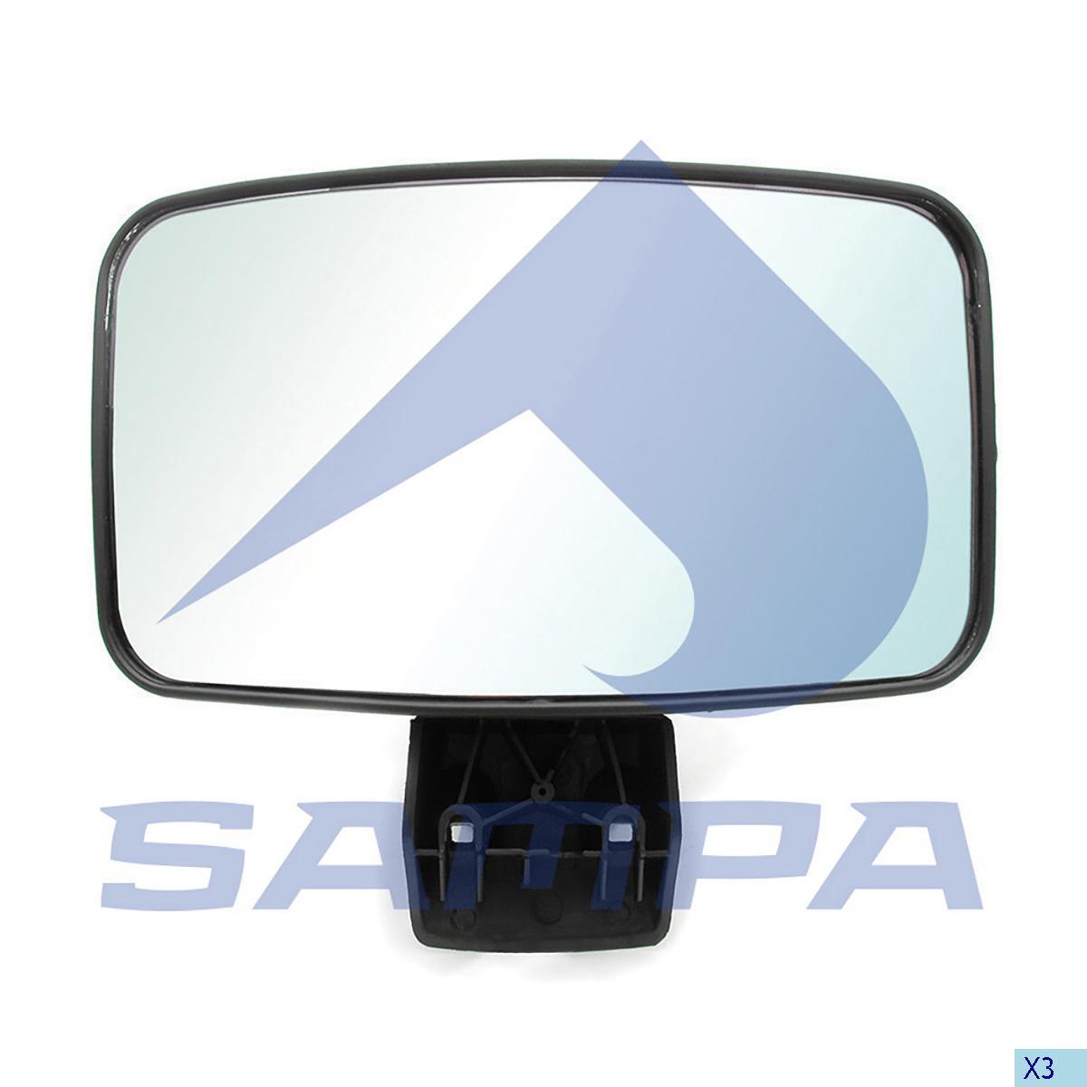 Mirror, Scania, Cab