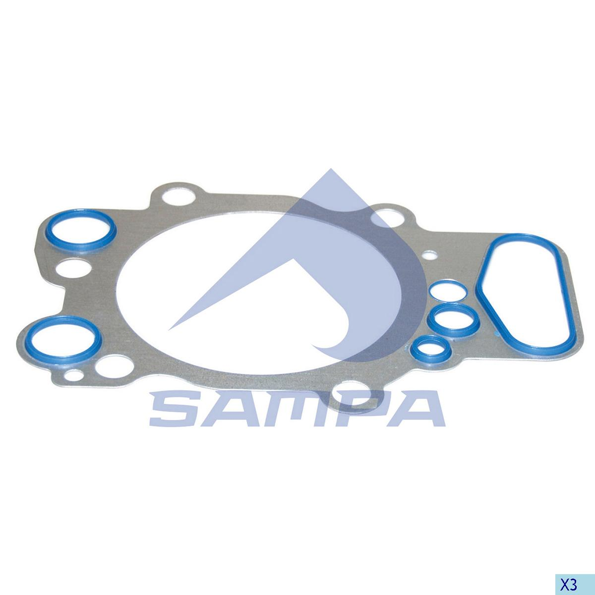 Gasket, Cylinder Head, Scania, Engine
