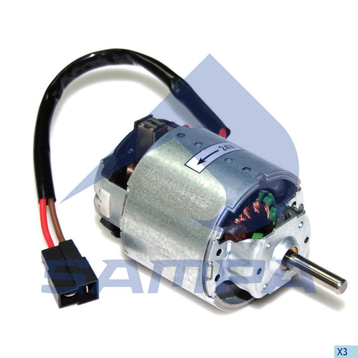 Fan Motor, Cab Heating & Ventilation, Scania, Cab