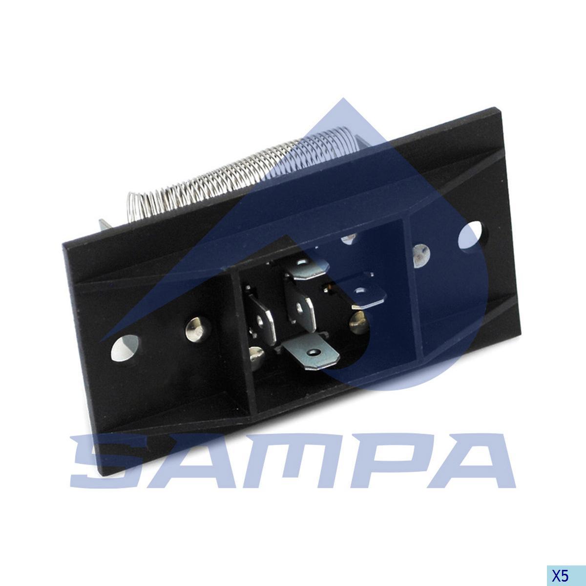 Heater Unit, Cab Heating & Ventilation, Scania, Cab