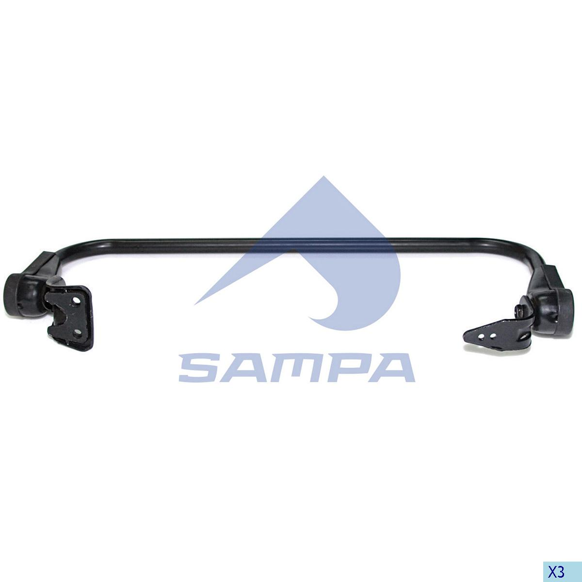 Arm, Mirror, Scania, Cab
