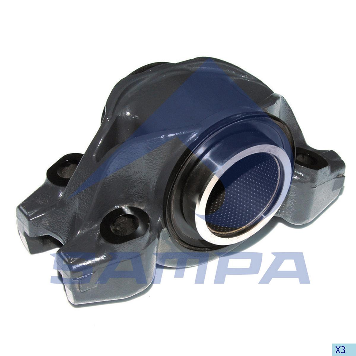 Bogie Bearing, Scania, Suspension