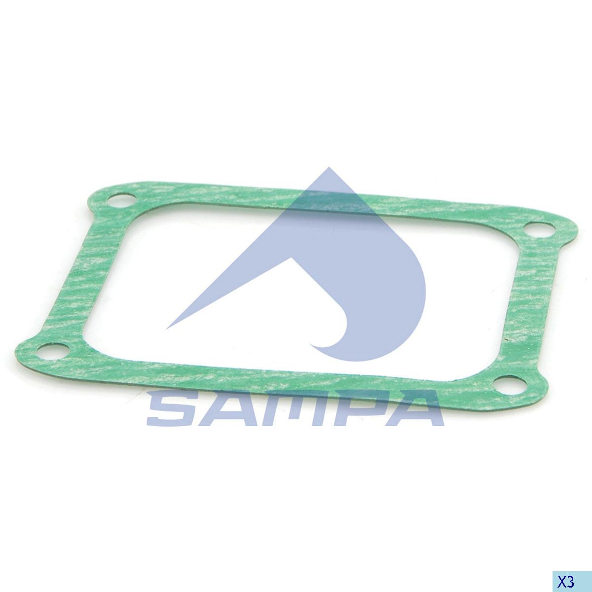 Gasket, Intake Manifold, Scania, Engine