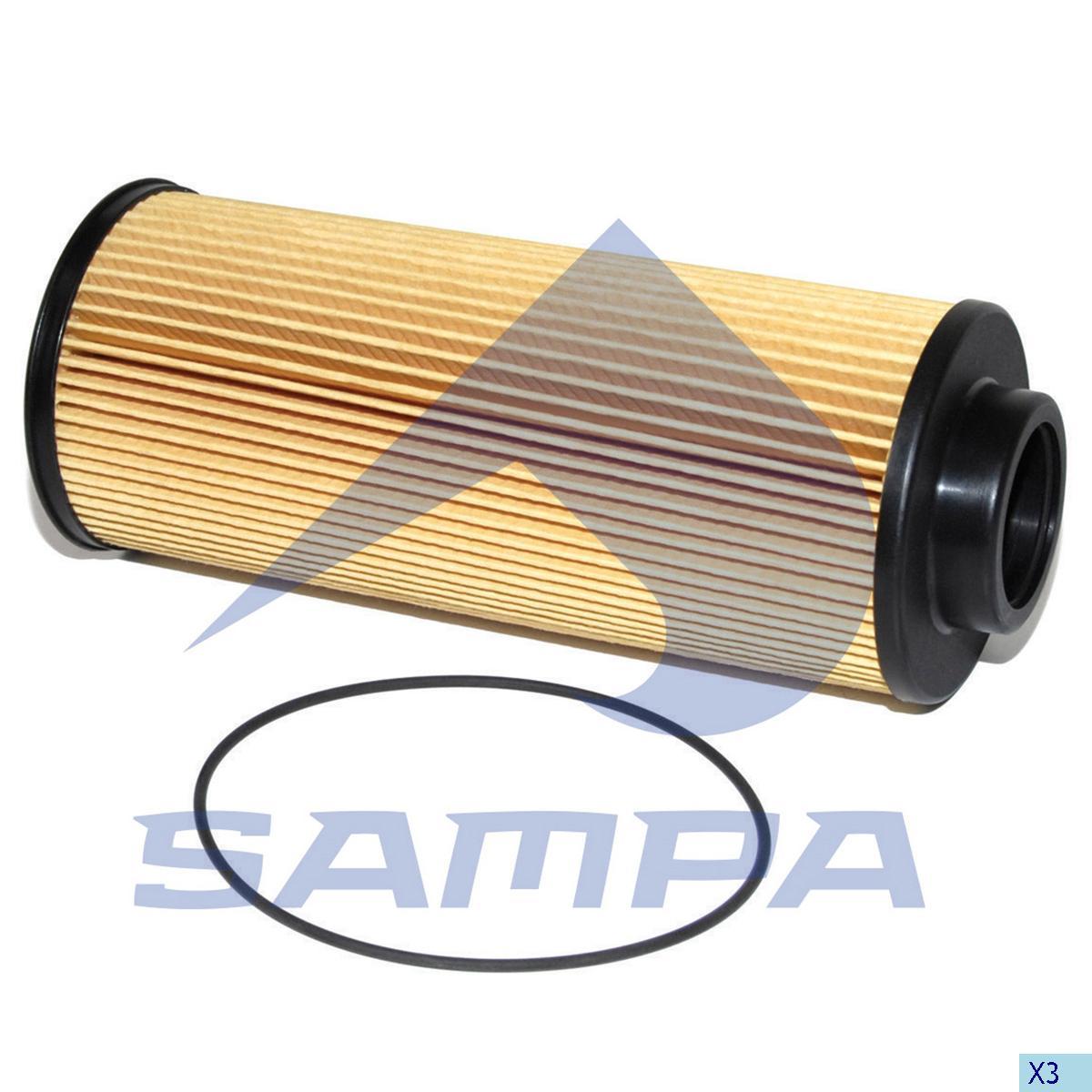 Oil Filter, Scania, Engine