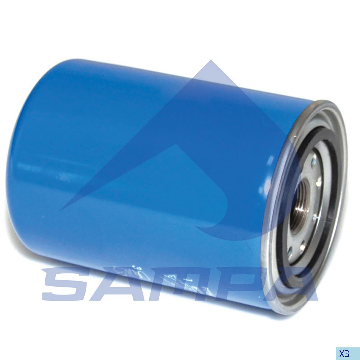 Fuel Filter, Scania, Engine