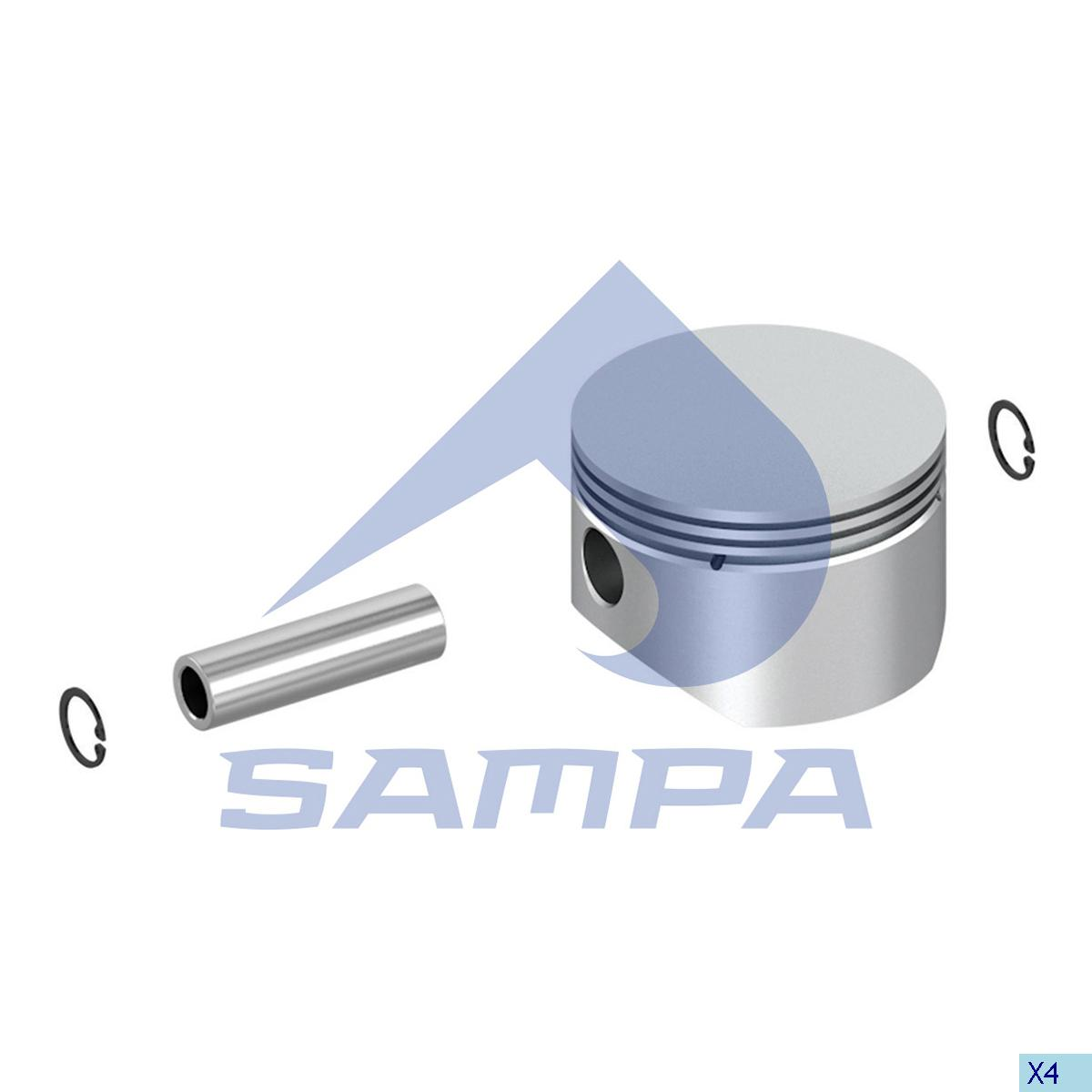 Piston, Scania, Compressed Air System