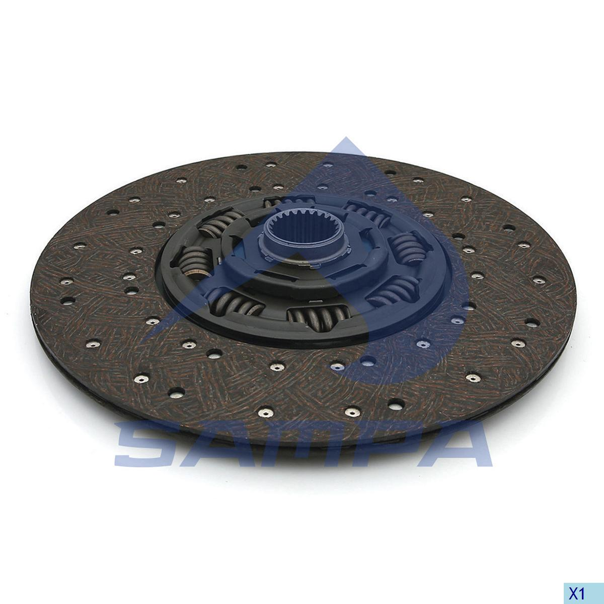Clutch Disc, Scania, Clutch