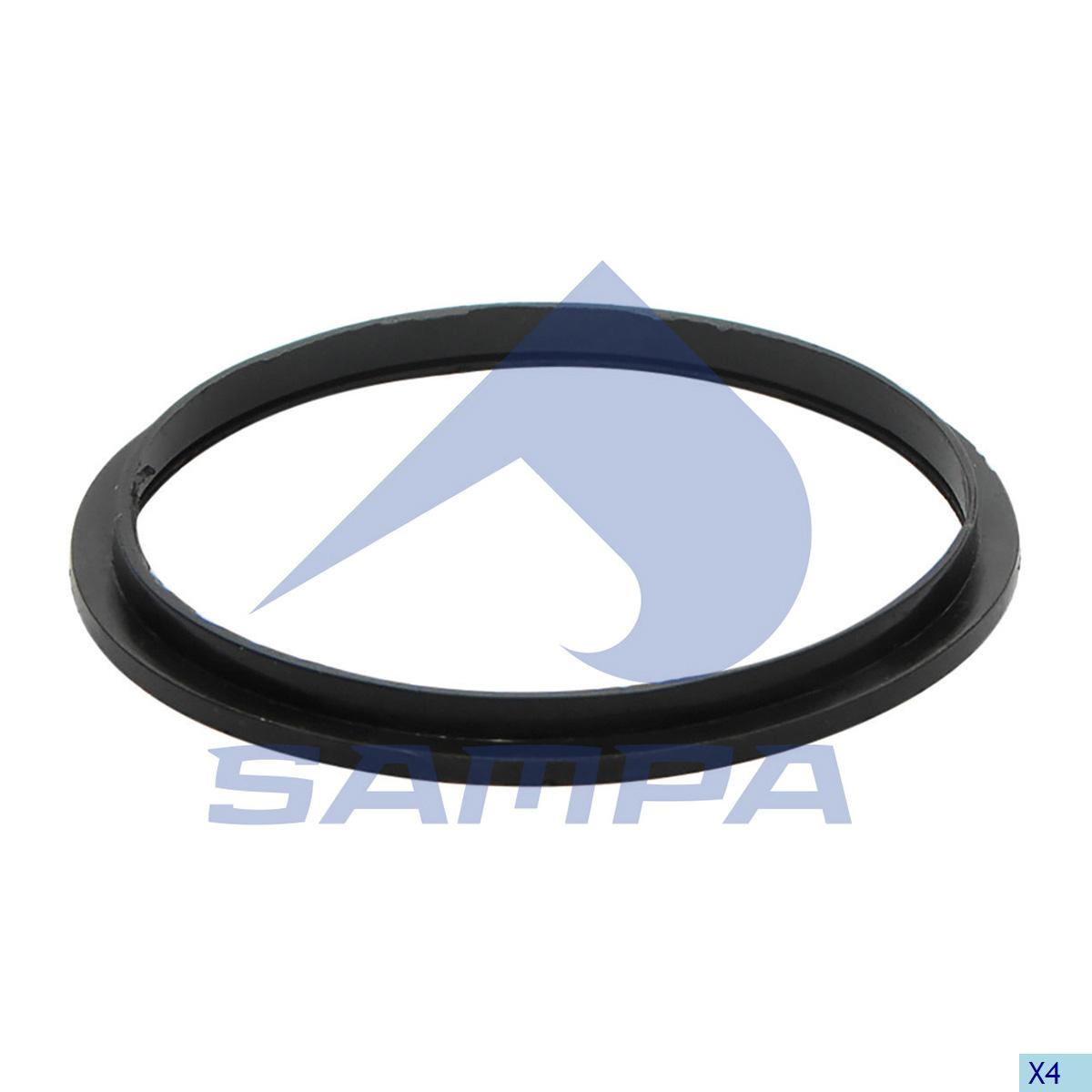 Gasket, Thermostat, Scania, Engine