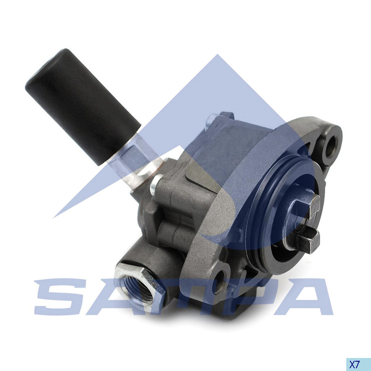 Feed Pump, Scania, Engine