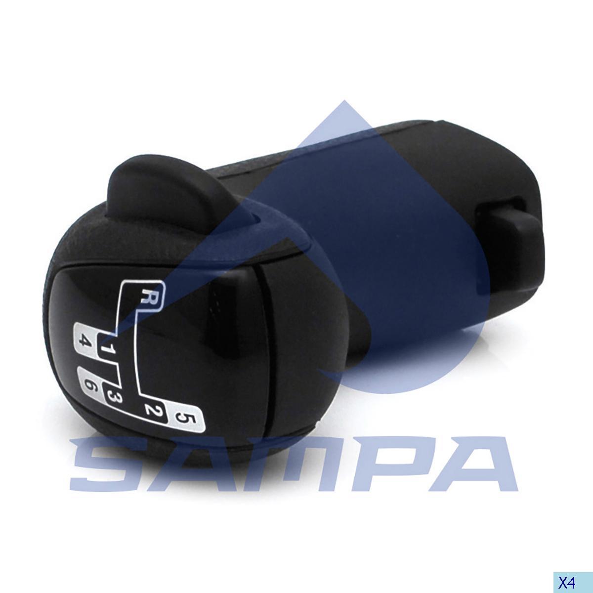 Knob, Gear Shift, Scania, Gear Box