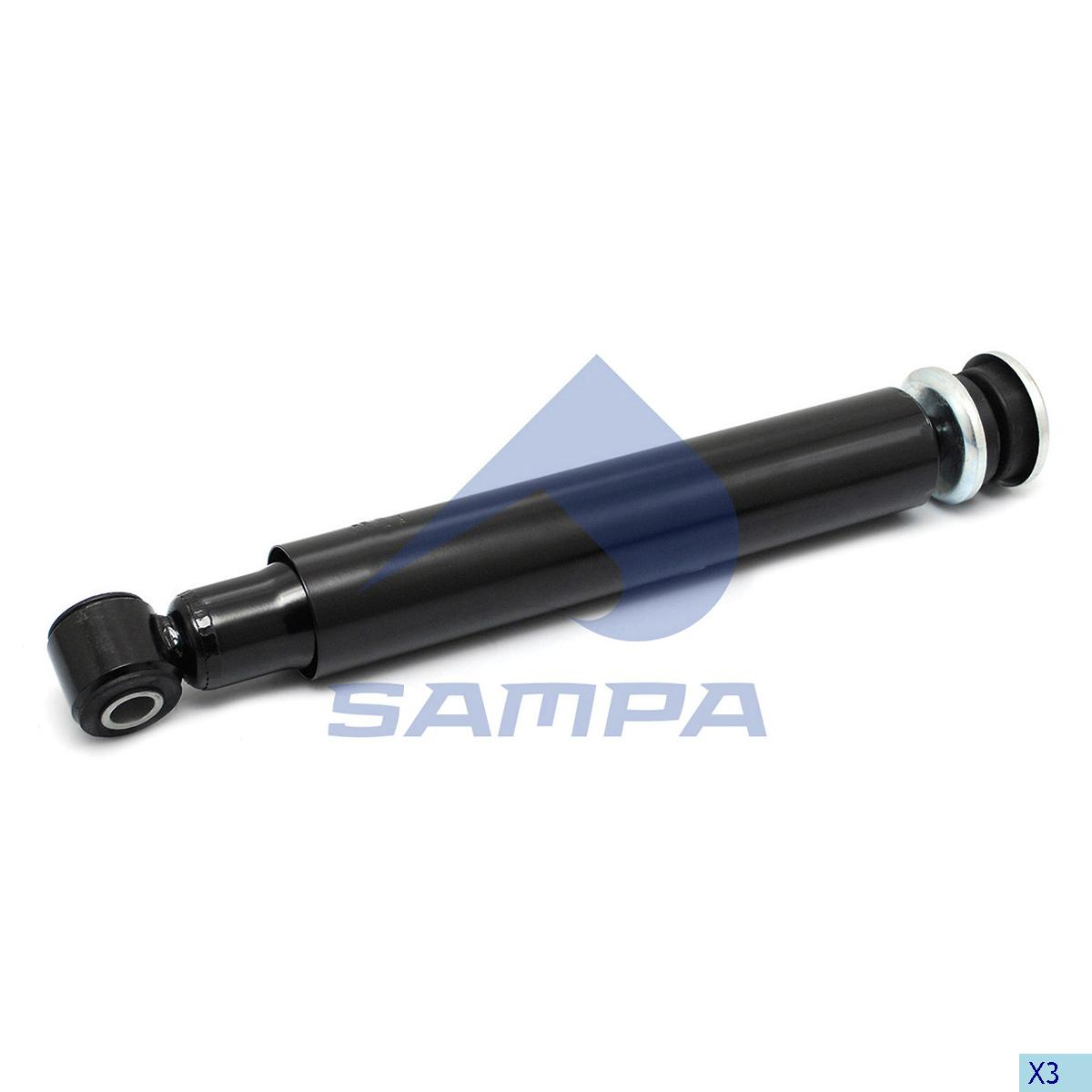 Shock Absorber, Scania, Suspension