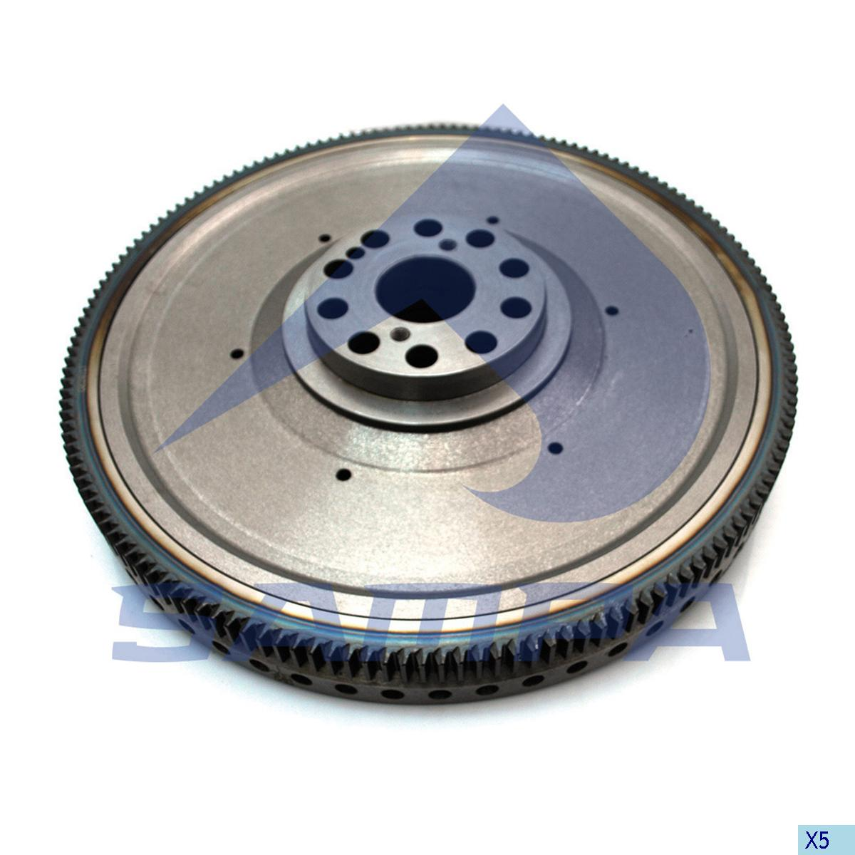 Flywheel, Scania, Engine