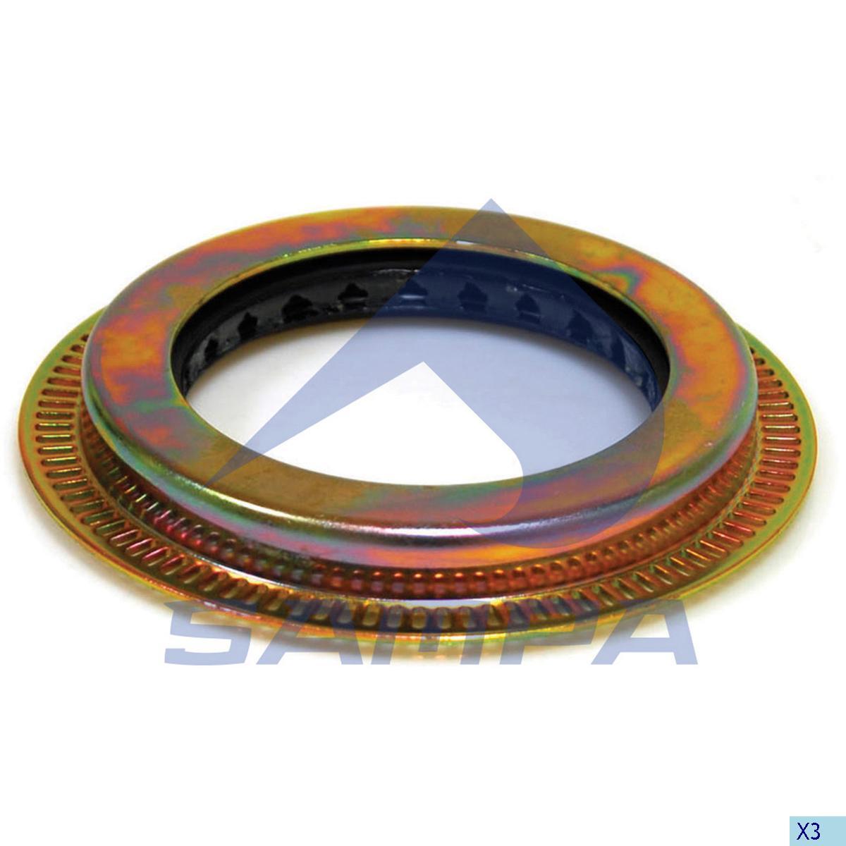Seal Ring, Wheel Hub, Daf, Power Unit