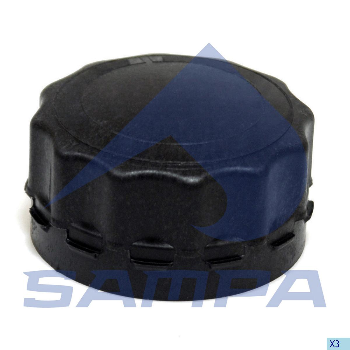Filler Cap, Radiator, Daf, Engine