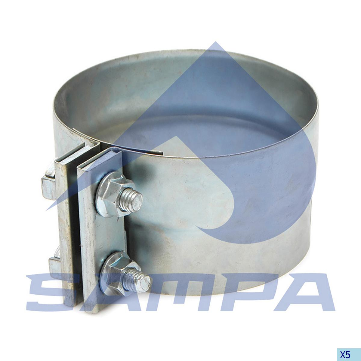 Clamp, Exhaust, Daf, Engine