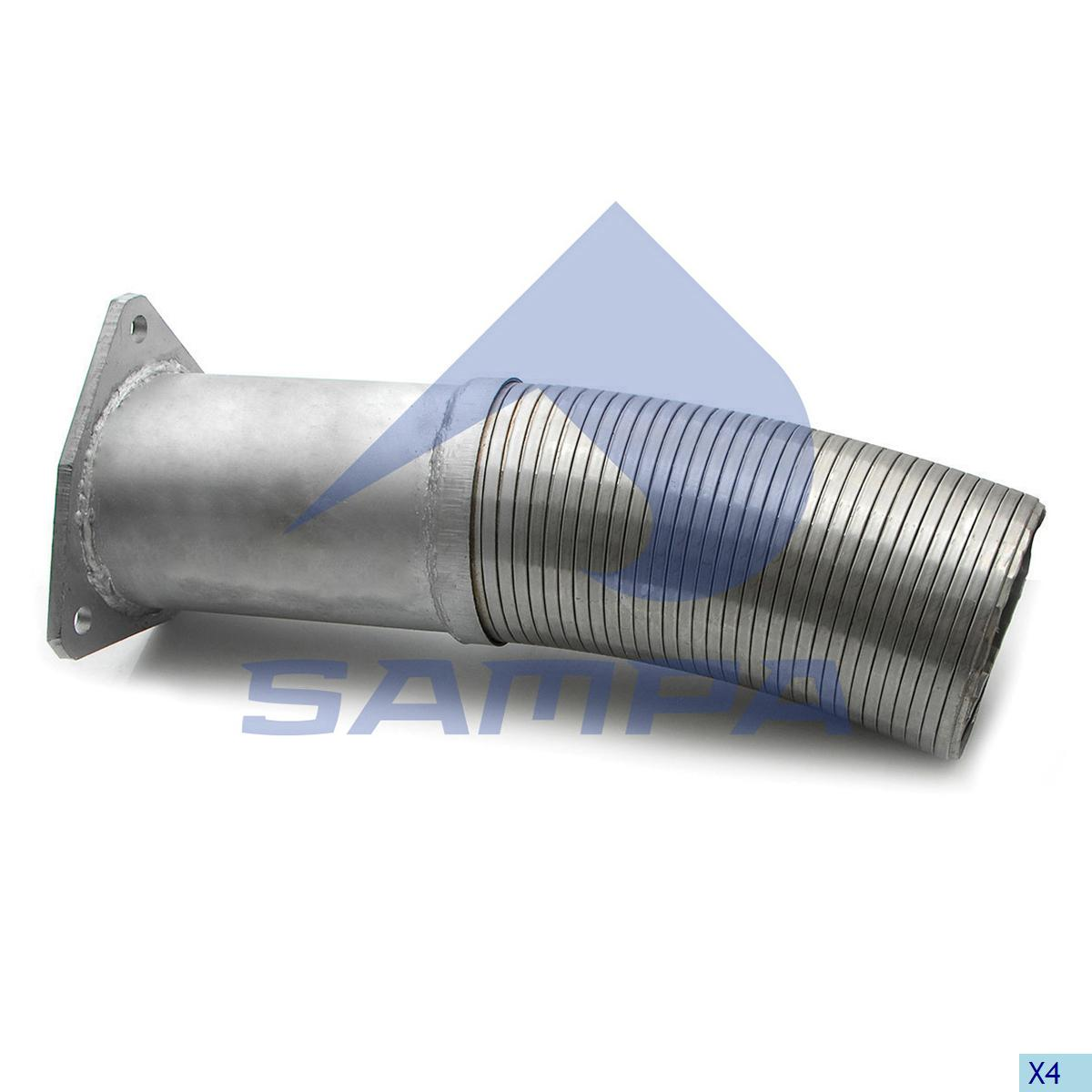 Flexible Pipe, Exhaust, Daf, Engine