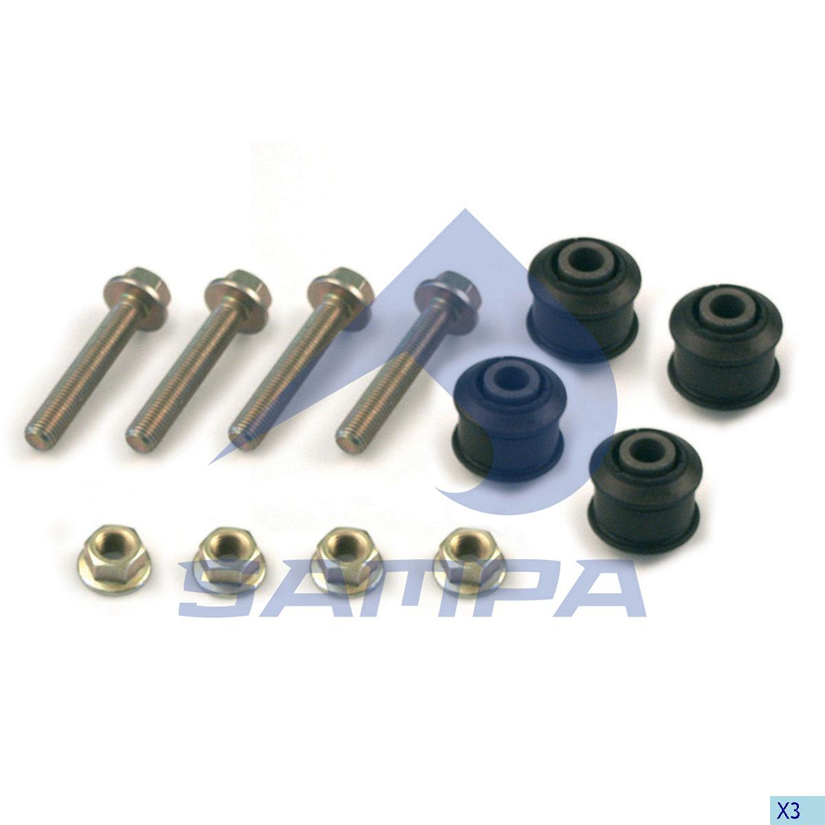Repair Kit, Stabilizer Bar, Daf, Suspension