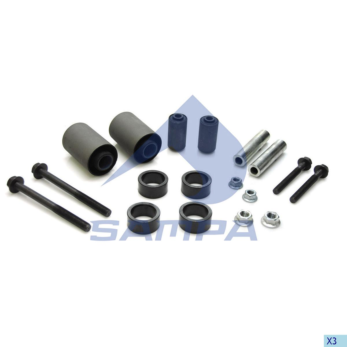 Repair Kit, Cab, Daf, Cab