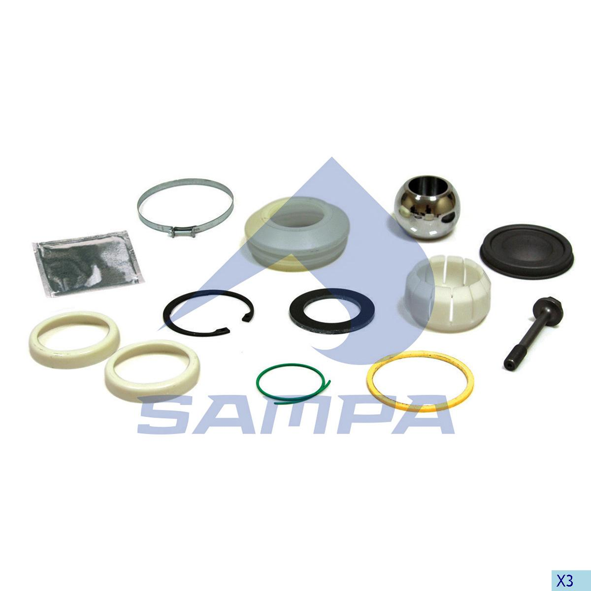Repair Kit, Axle Rod, Daf, Suspension