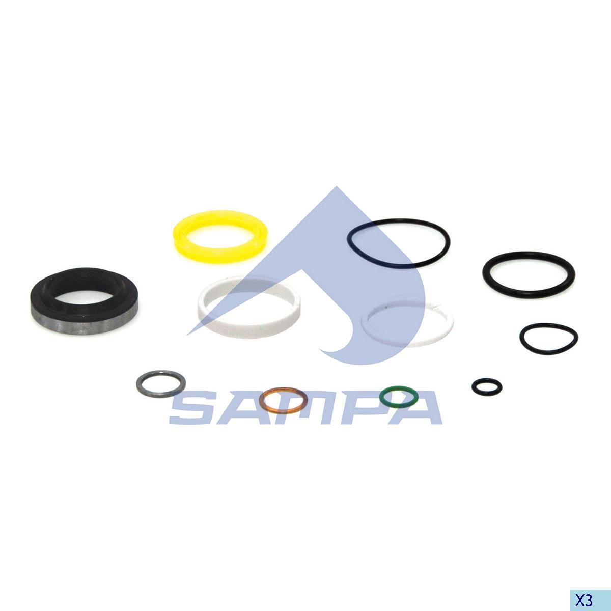 Repair Kit, Cab Tilt, Daf, Cab